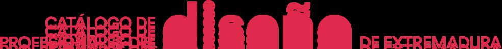 Catálogo de profesionales del diseño de Extremadura Logo retina