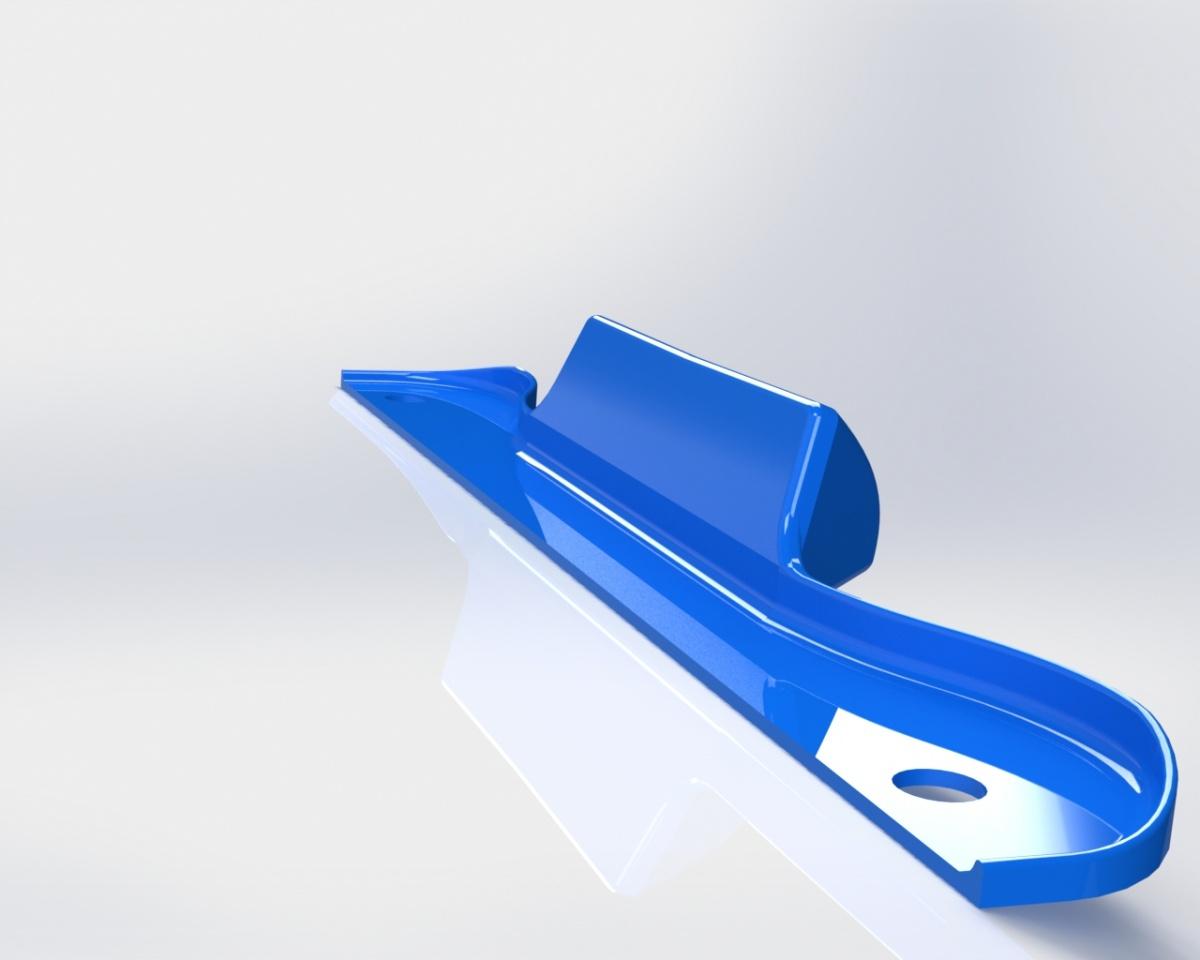Diseño y fabricación de un soporte tablet en plástico de trabajo personalizado.