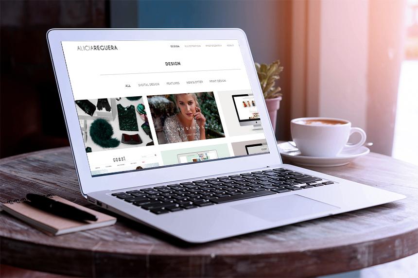 Alicia Reguera. Diseño y Desarrollo Web
