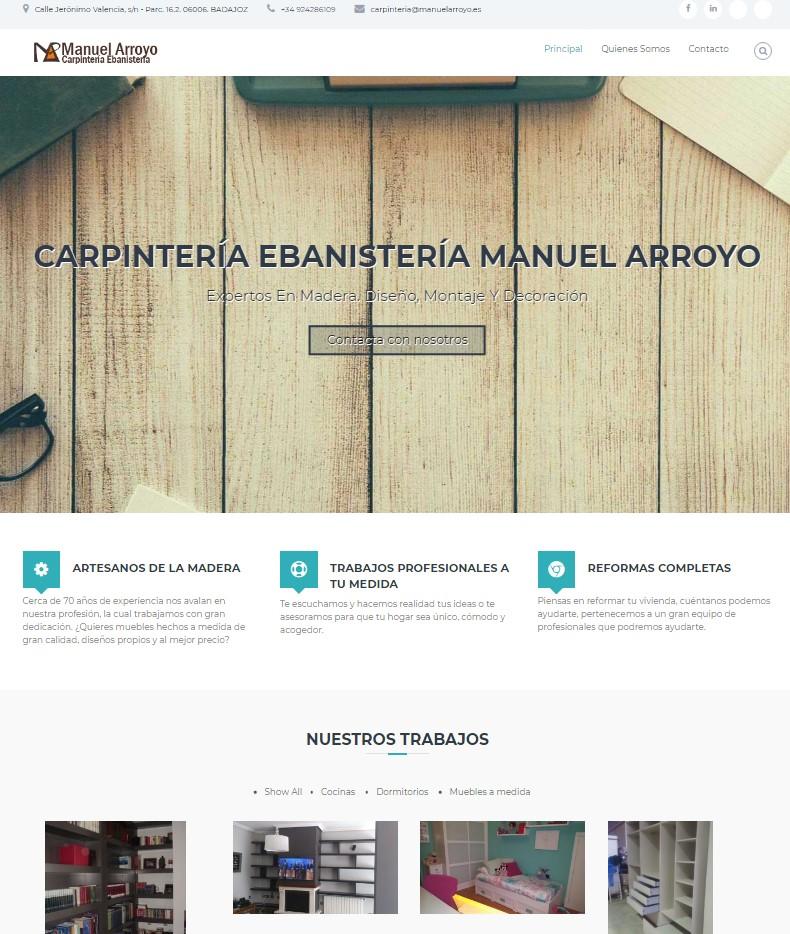 Diseño de página corporativa y optimización SEO