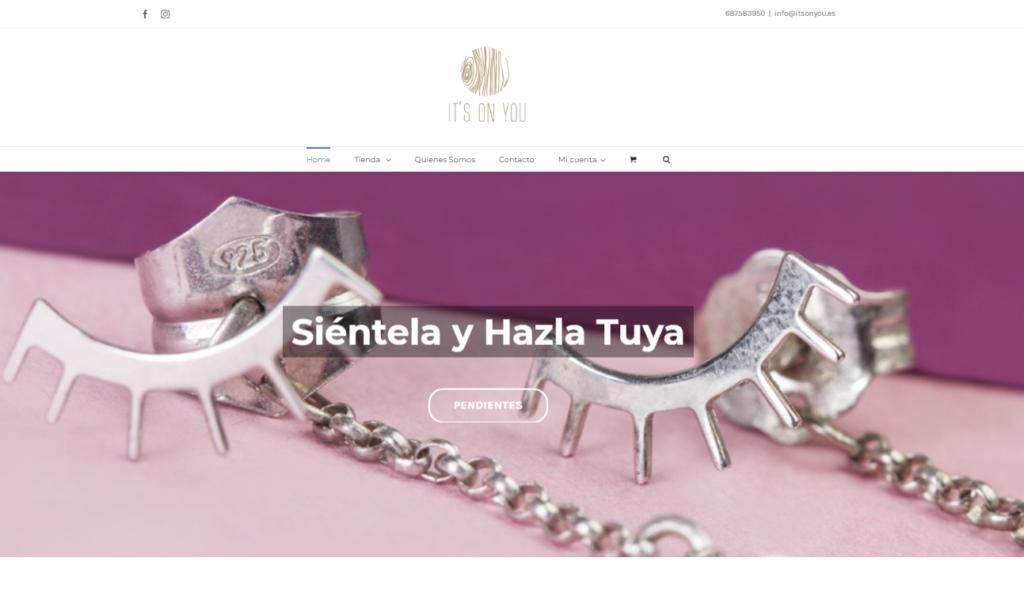 Diseño Tienda Online Itsonyou