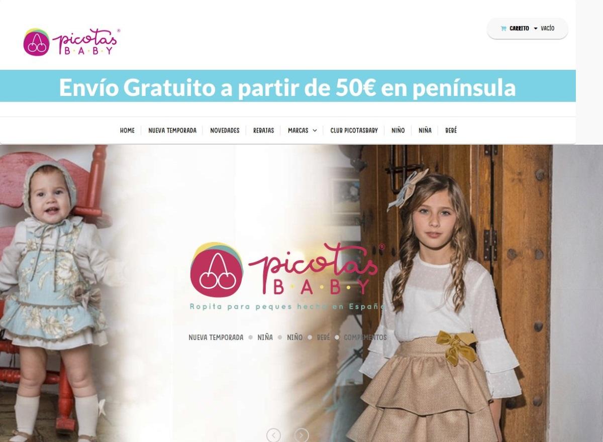 Diseño Tienda Online Picotasbaby