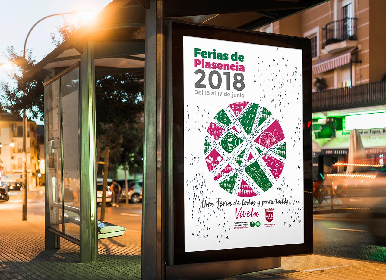 Imagen de las Ferias de Plasencia 2018 - Diseño e impresión