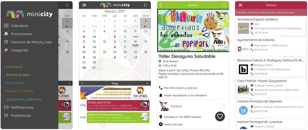 Minicity iPhone App