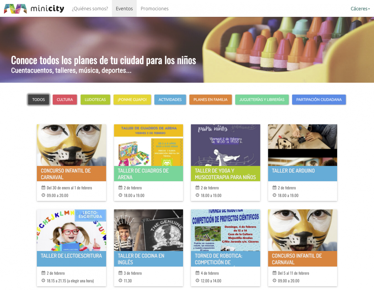 Minicity Web