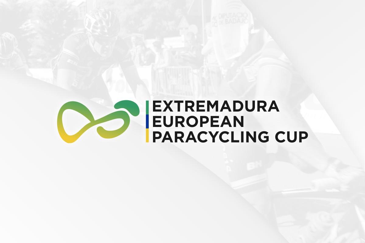 Diseño de logotipo para la Extremadura European Paracycling Cup