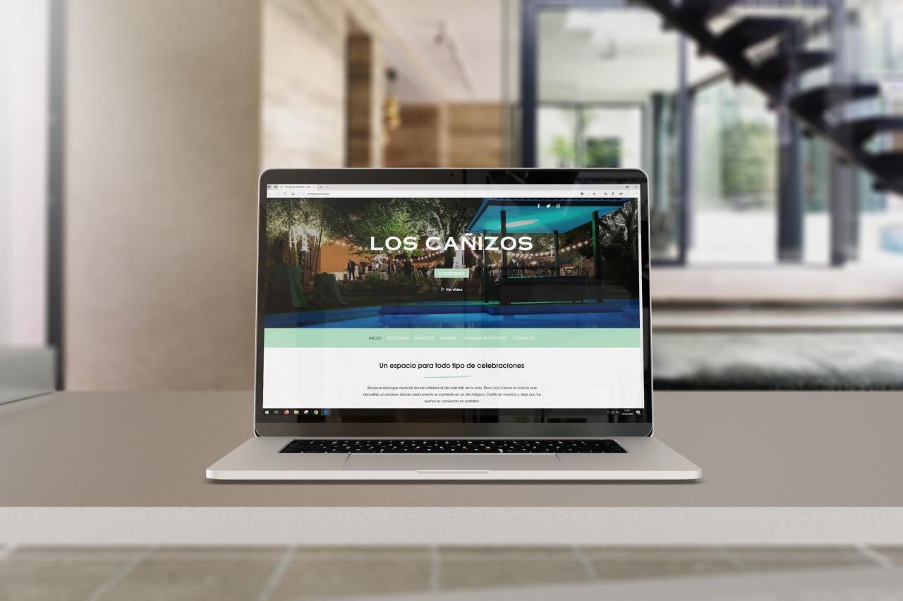 Desarrollo y diseño web para Los Cañizos