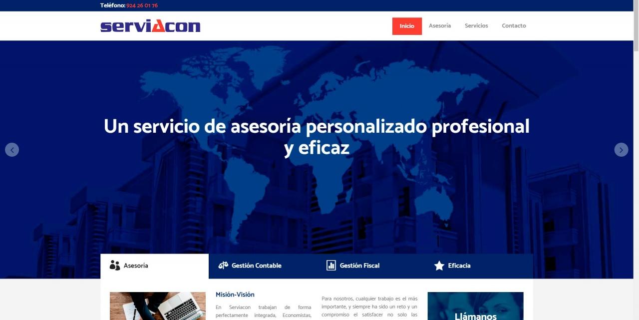 Web para asesoria laboral