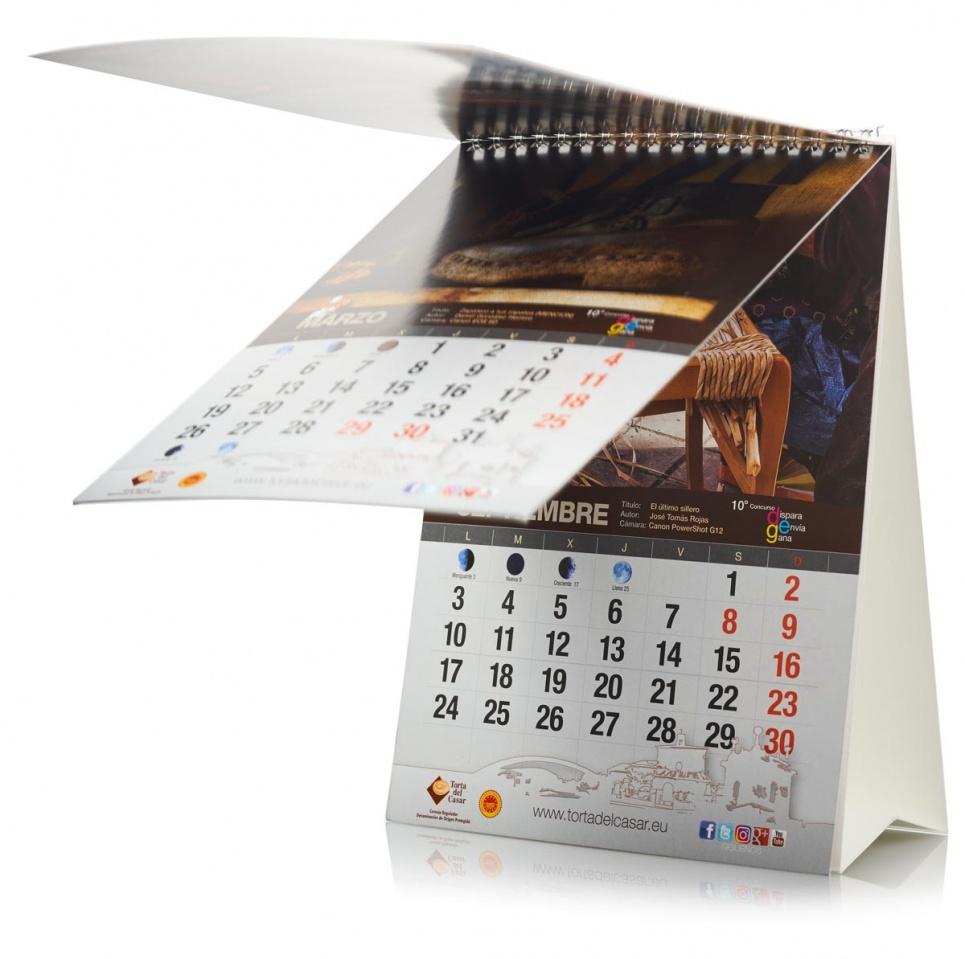 Fabricación de calendario
