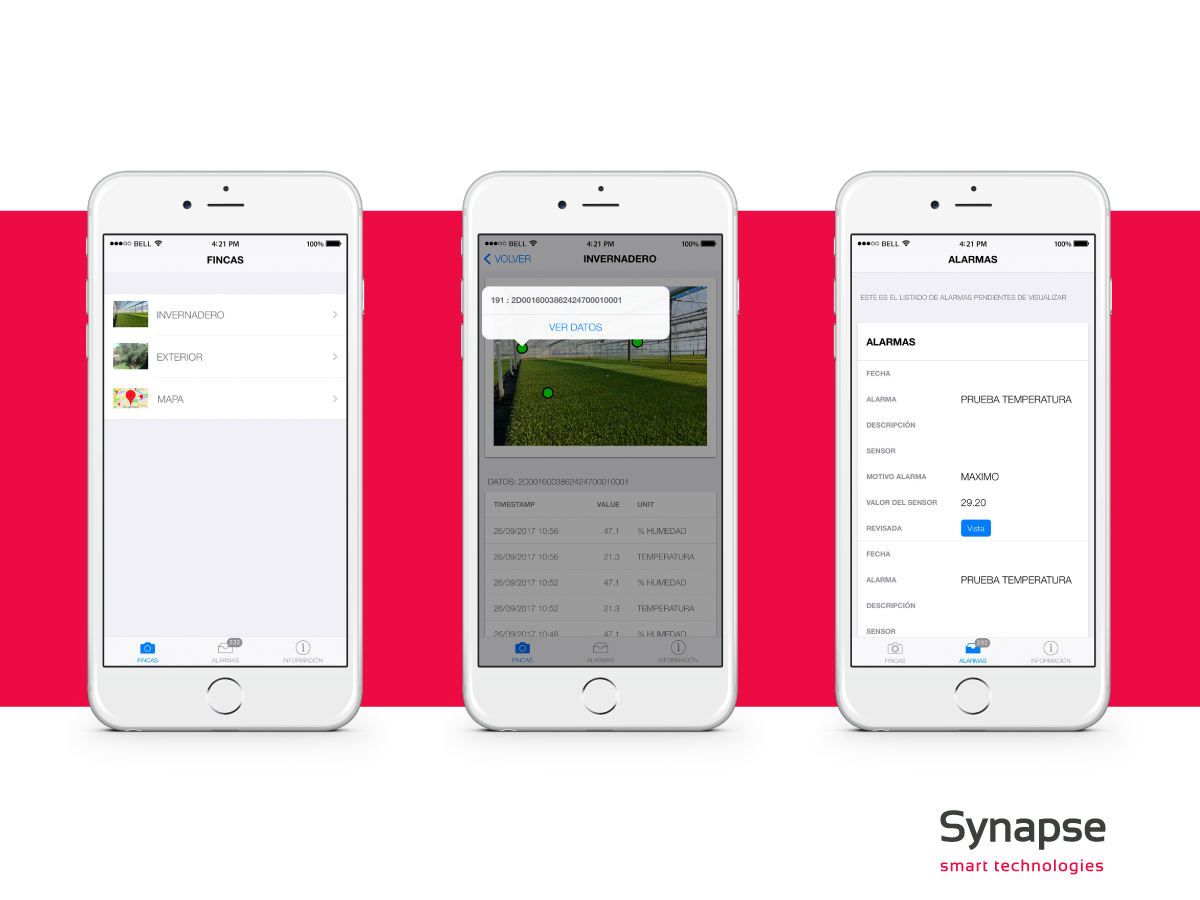App: Agroconecta, sistema inalámbrico de sensores agrícolas