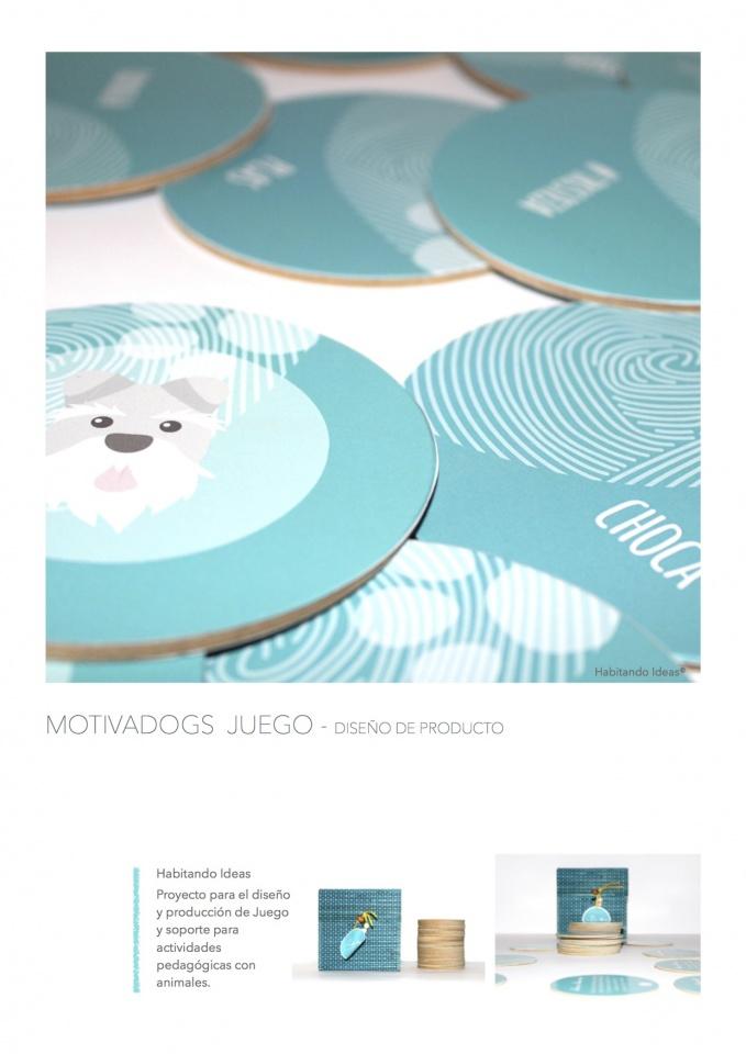 Motivadogs - Diseño de producto. Producción.