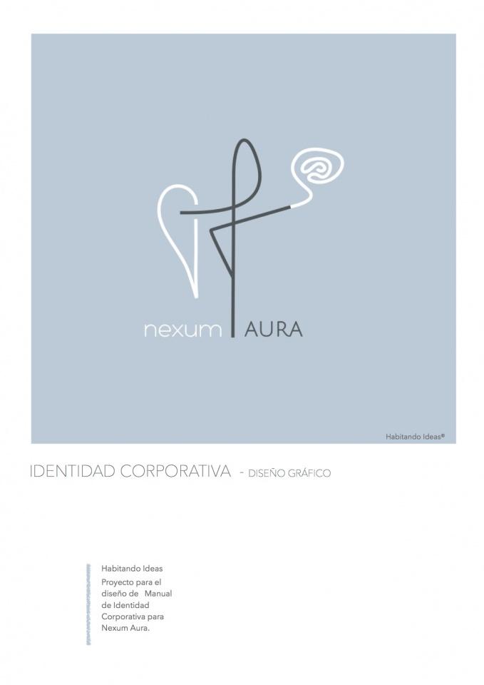 Nexum Aura - Diseño de Identidad Corporativa . Diseño Gráfico