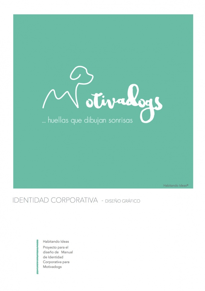 Motivadogs - Diseño de Identidad Corporativa. Diseño gráfico.