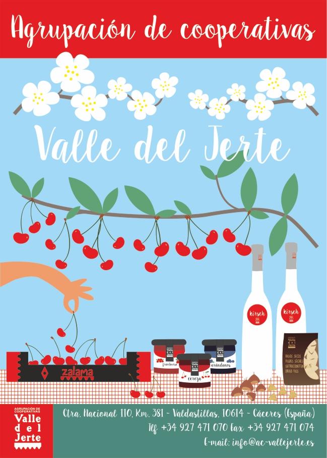 Cartelería Agrupación Cooperativas Valle del Jerte