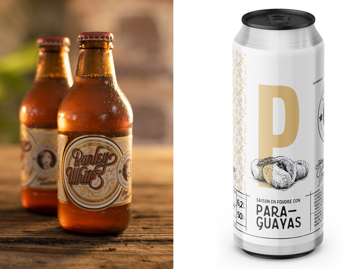 Diseño de Packaging para Cervezas La VIrgen