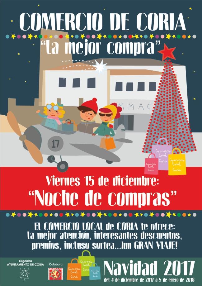 Cartelería campaña navideña Ayuntamiento Coria