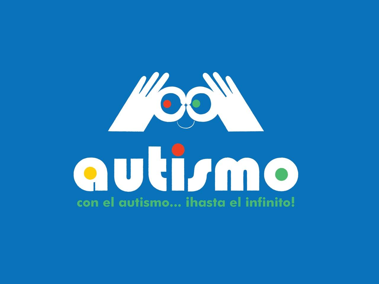 Logo para el día del autismo: ¡hasta el infinito!