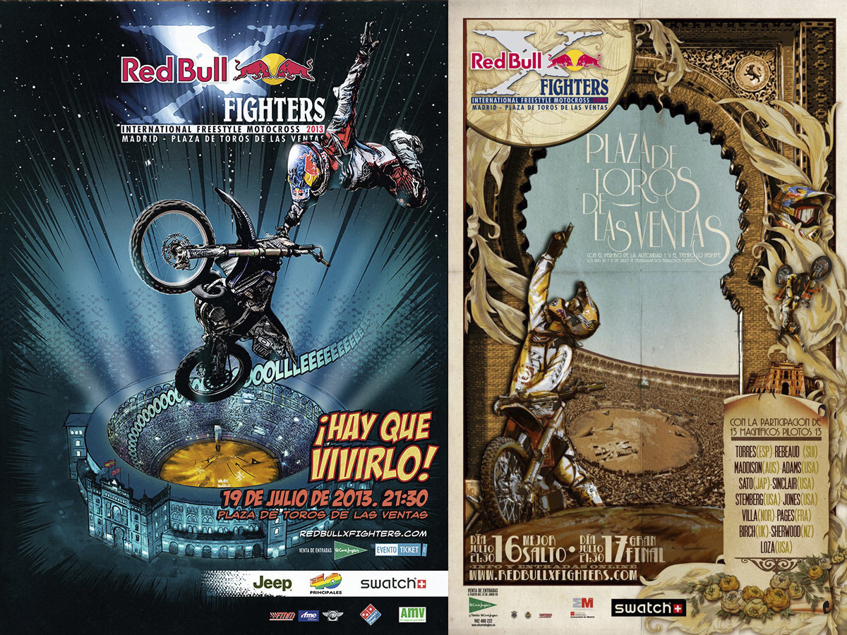 posters Red Bull X-Fighters