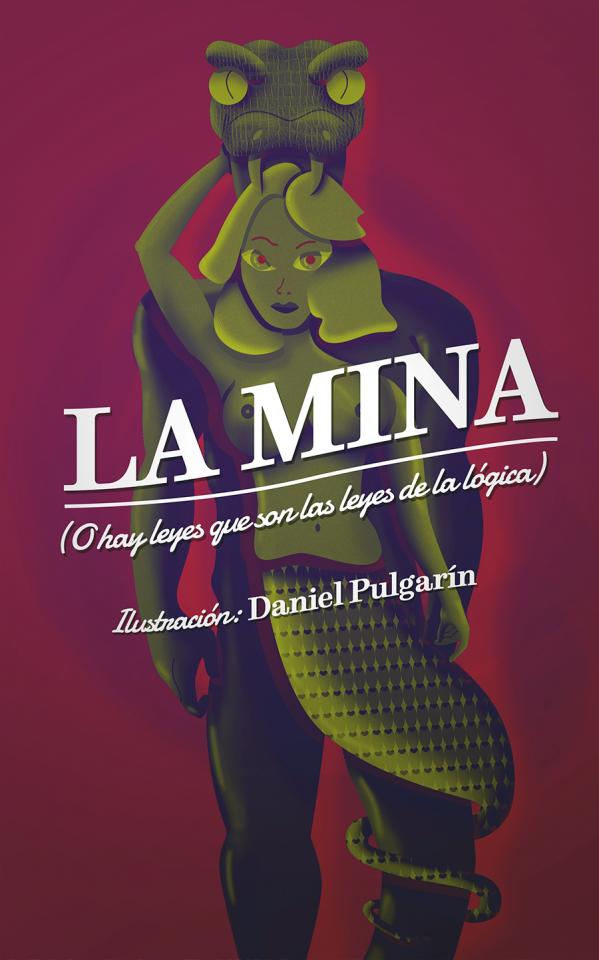 La Mina - Ilustración Vectorial para portada de Libro