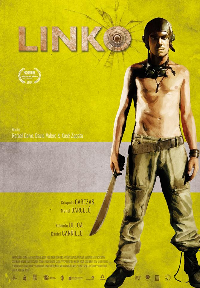Cartel para pelicula Linko
