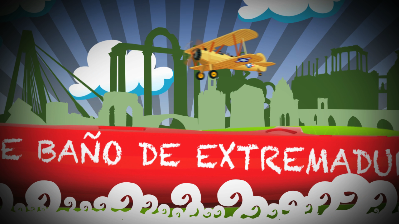 Grafismo cabecera programa A Remojo