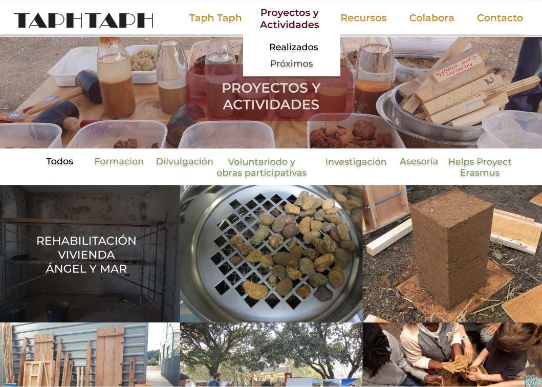 Web Asociación Taph Taph
