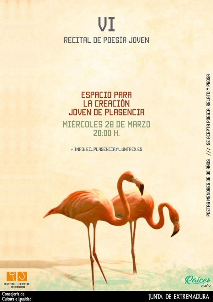 VI Recital de Poesía Joven (Diseño)