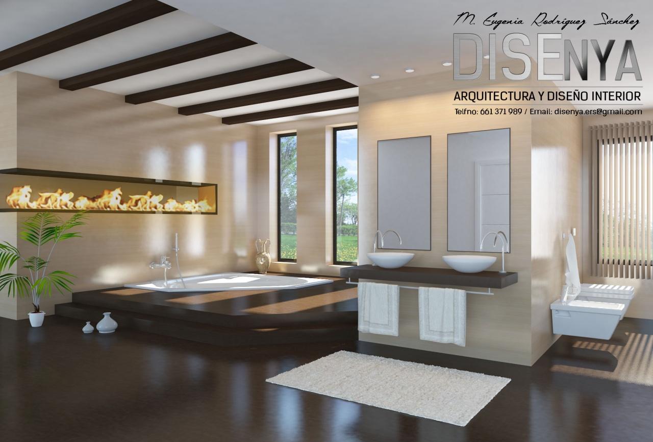 Reforma y diseño de baño para vivienda unifamiliar