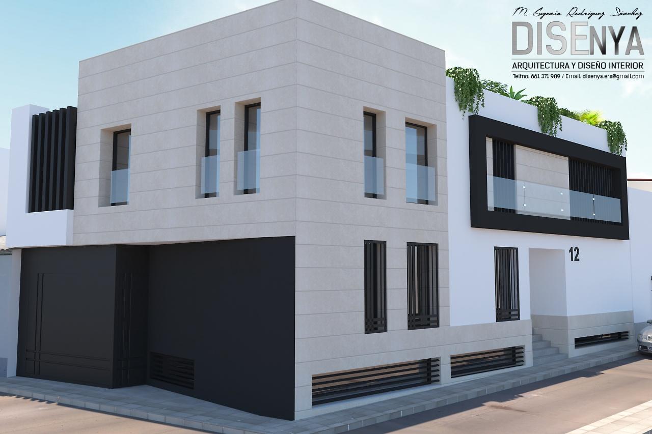 Proyecto de Arquitectura y diseño interior de vivienda pareada