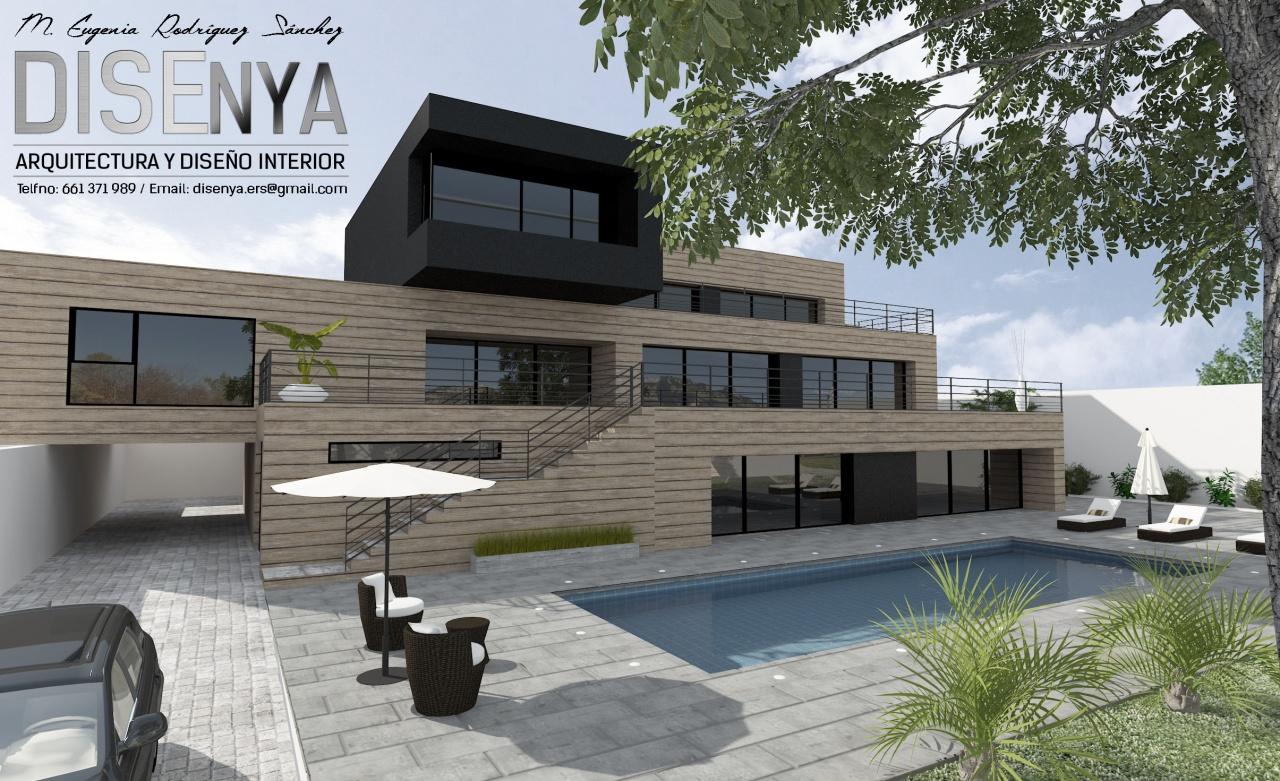 Proyecto de Arquitectura y diseño interior de vivienda exenta