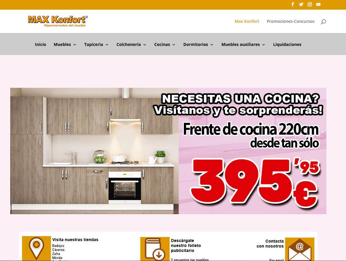 Empresa de muebles. HTML5, CSS y PHP