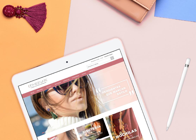 Diseño y Desarrollo Tienda Online para Combínate
