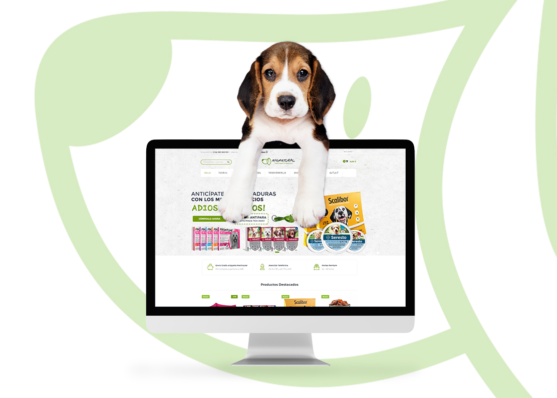 Diseño y Desarrollo Tienda Online para Animatural
