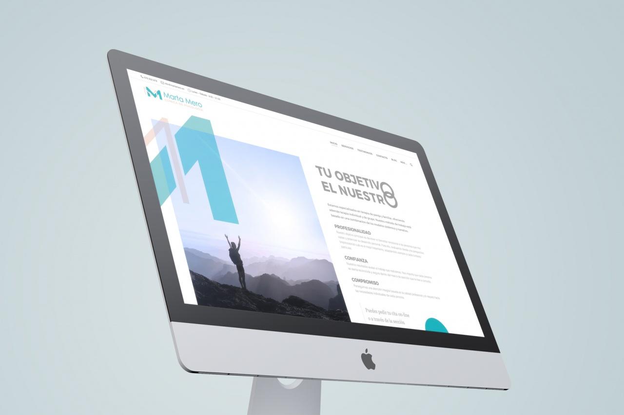 Diseño y Desarrollo Web para Marta Mero