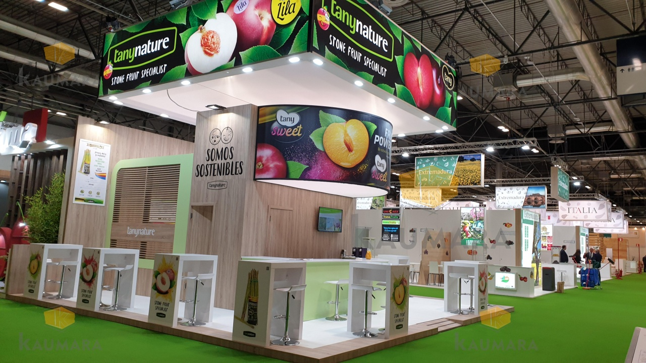 Stand Tany Nature feria Fruit Attraction
