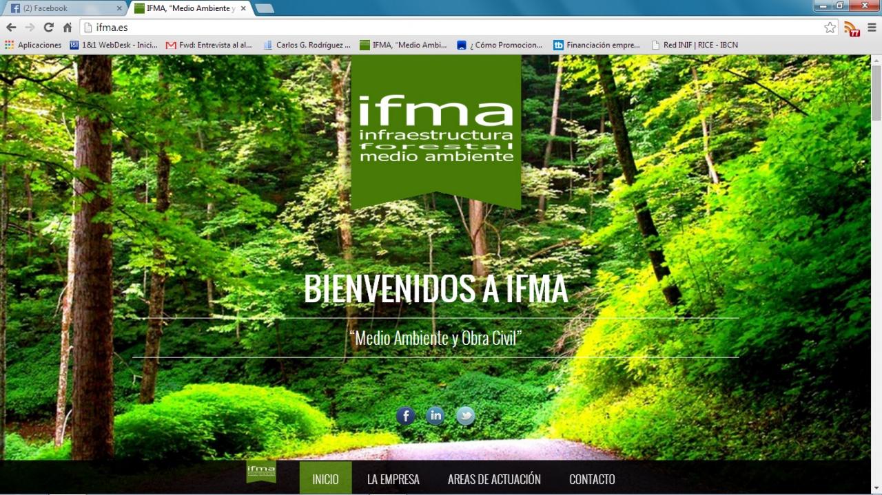 Ifma - Diseño Web
