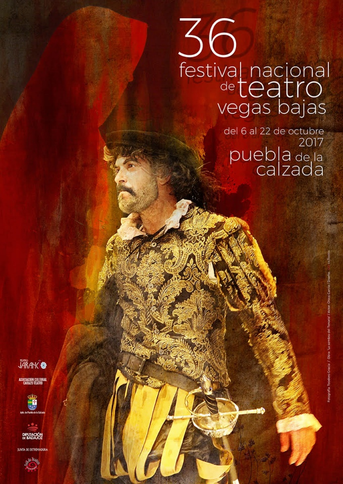 Cartel Festival Teatro Vegas Bajas