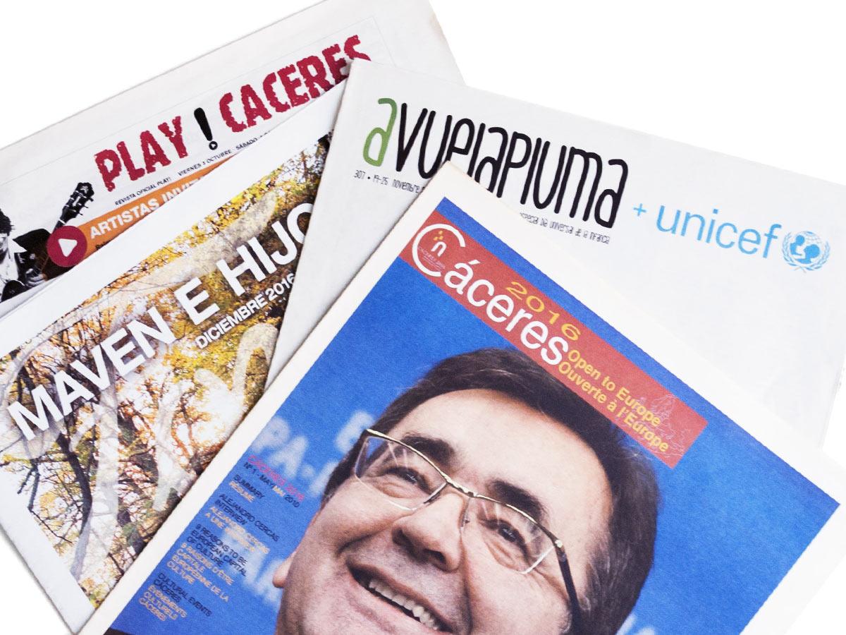 edición de publicaciones