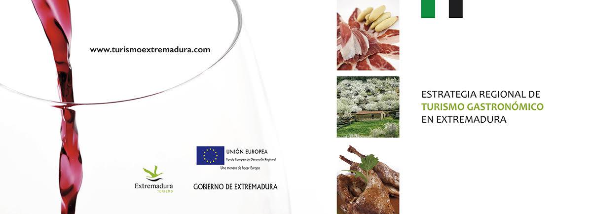 Folleto Gastronomía Extremadura