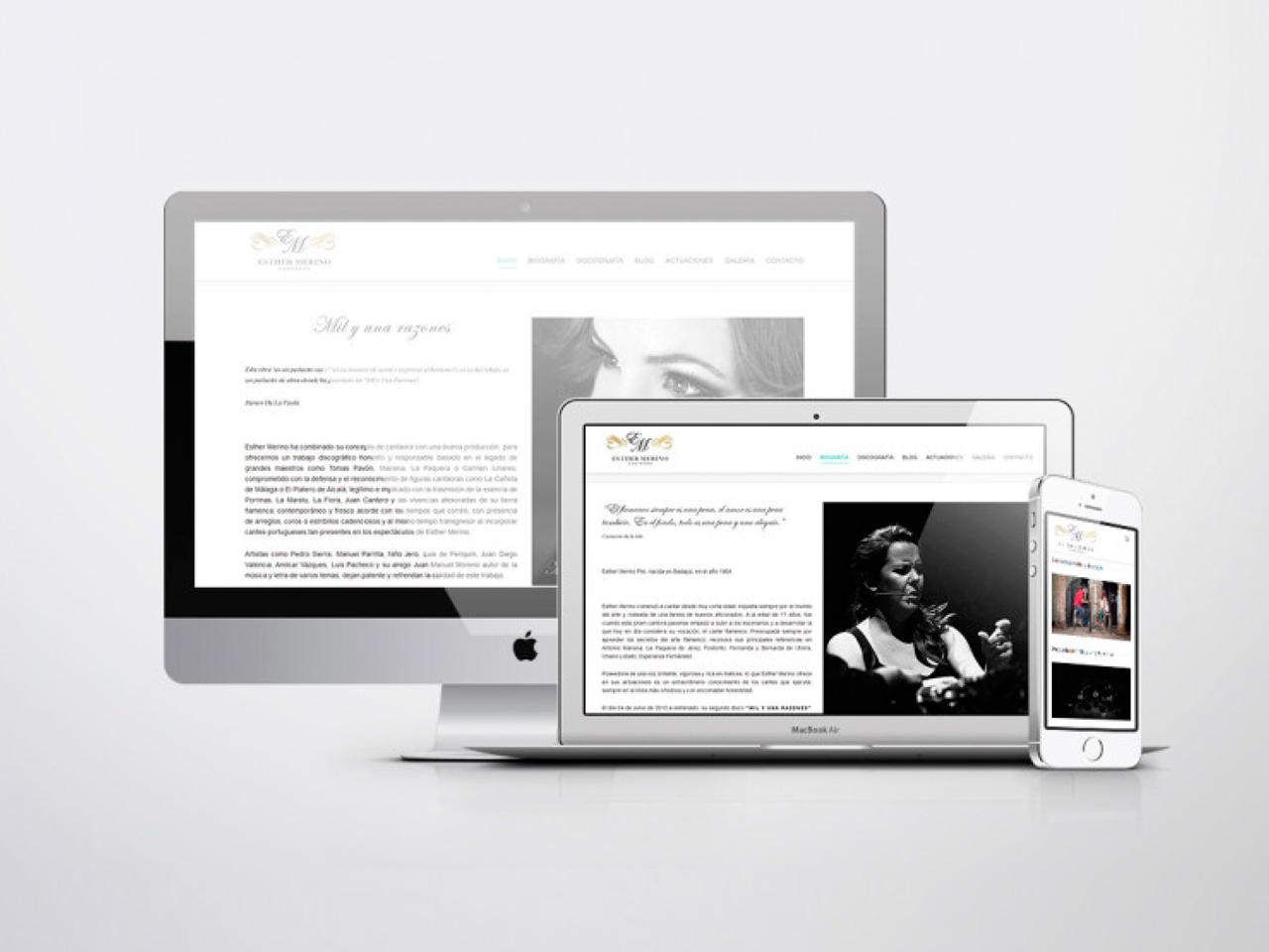 Diseño web Esther Merino