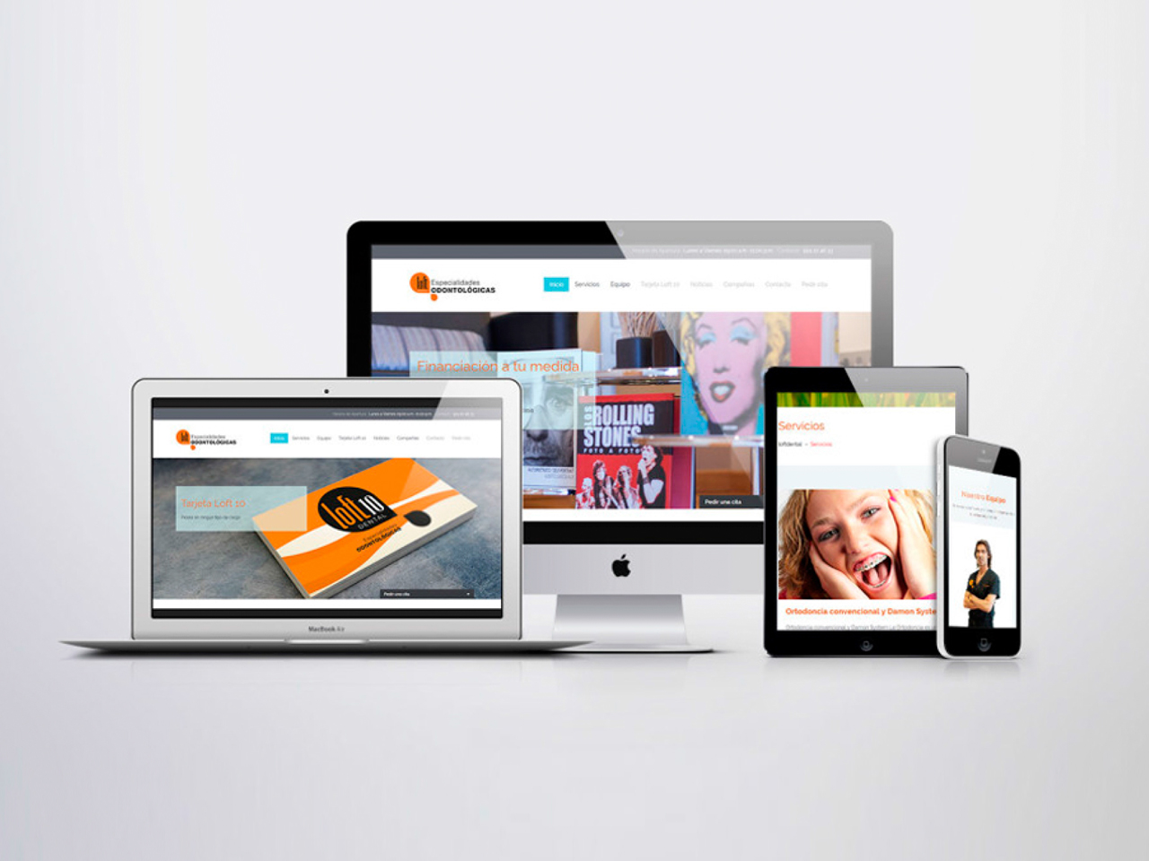 Diseño web Loft Dental