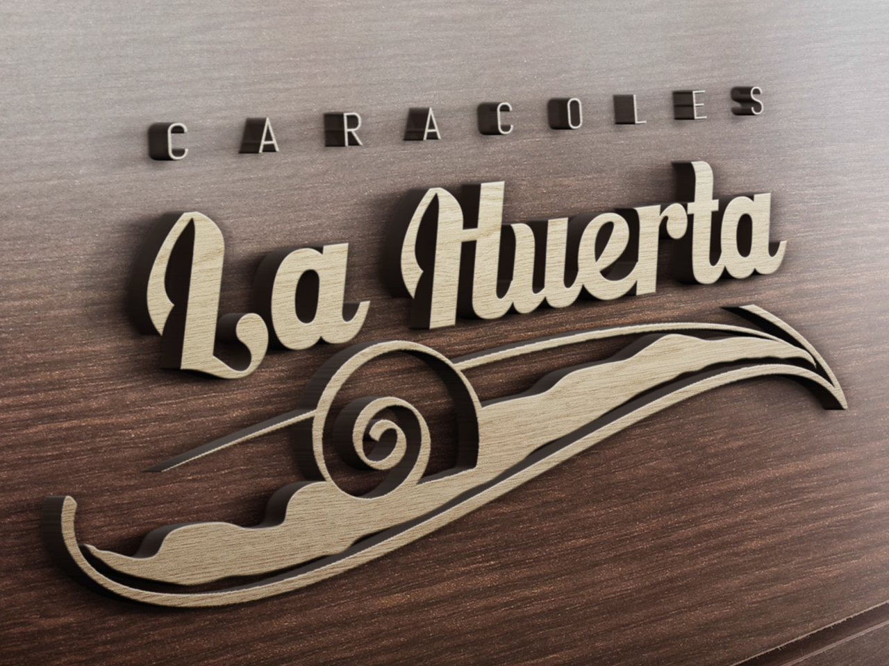 Imagen corporativa Caracoles La Huerta