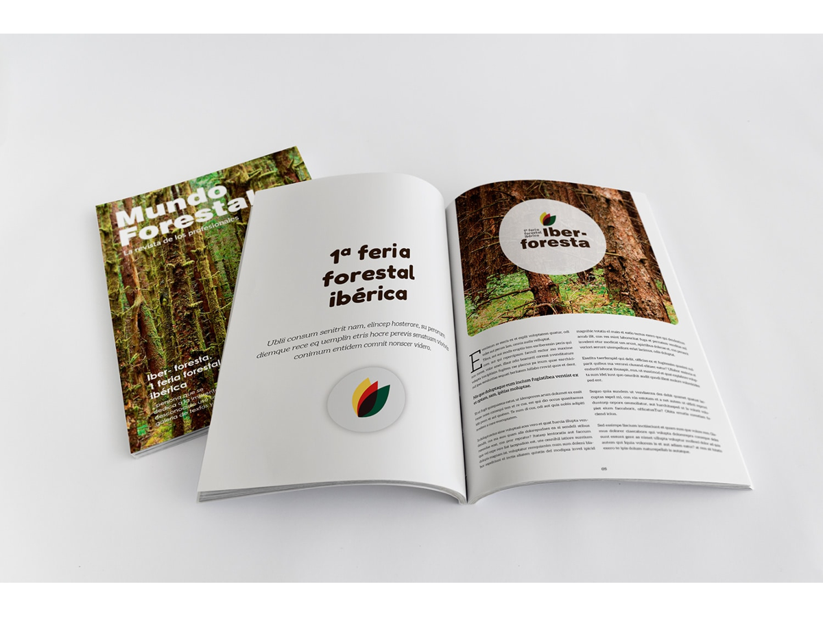 Creación de la marca, la imagen, la página web y la estrategia de comunicación y márketing para la primera y segunda Feria Foresta Ibérica