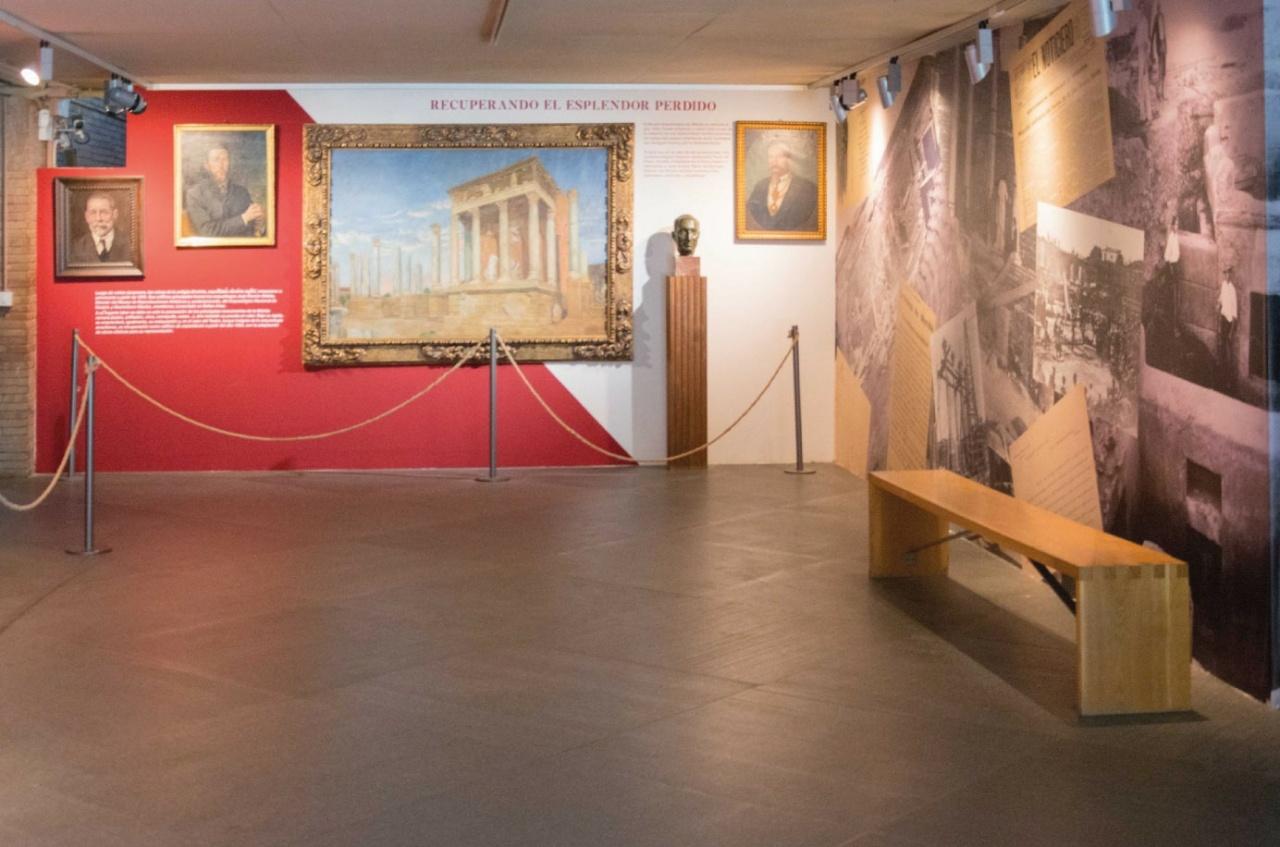 Diseño de Espacios Museo Nacional de Arte Romano