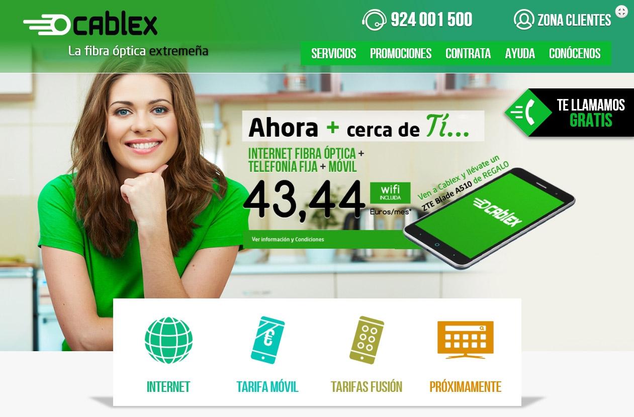 Cablex. La fibra óptica Extremeña