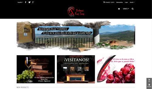 Comercio electrónico vinos