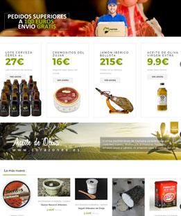 Diseño web para Tienda Online Corazonex