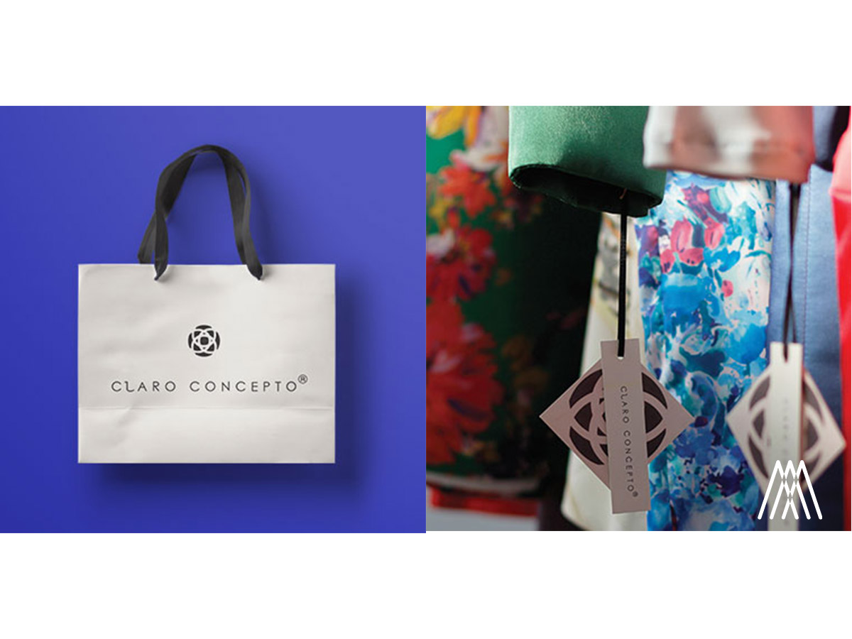 Branding & Packaging para la marca de moda extremeña Claro Concepto.