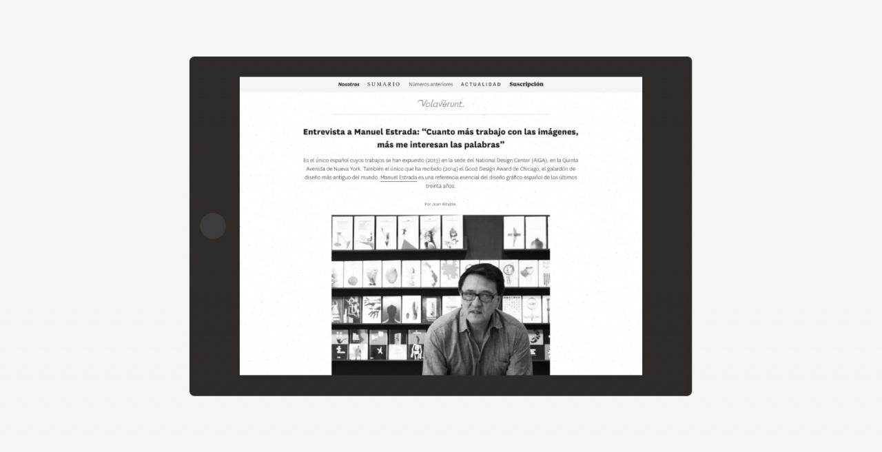 Tienda y web para Revista cultural Madrid