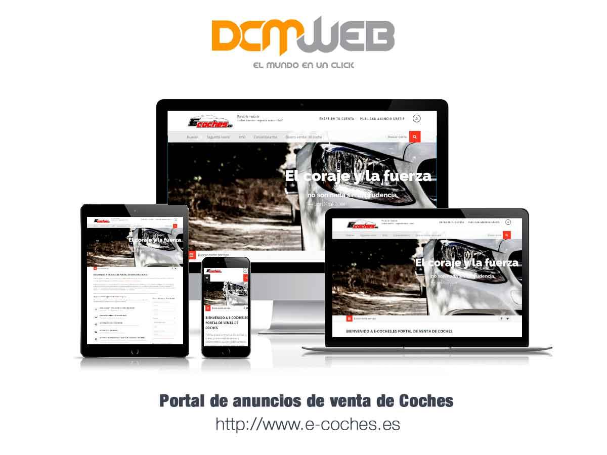 Portal de venta de coches en España